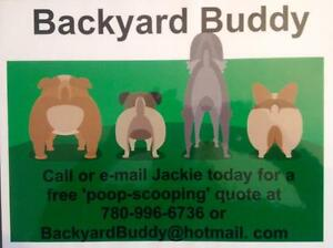BACKYARD BUDDY  Poop-Scooping Services