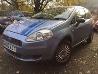 06 plate - Fiat Punto Grande - 2 former keeper - 6 months mot - 3 Door petrol - 49K low milleage