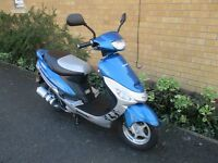 lexmoto scout pulse 50cc scooter , 7 stamps in service book ,great condition, really reliable bike