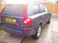 volvo xc90 se d5 auto 185 bhp 7 seater (cheep tax £295 for the year)