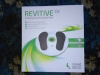 Revitive Circulation Booster DX In Box & like New comes with unit, power lead and manual