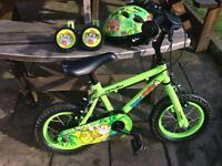 Boys 12 inch wheels ideal first bike