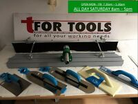 "4ft X 8"" Magnesium Concrete Bullfloat + Poles & Brush & OX Tools Kit Deal"