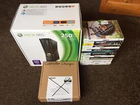 Xbox 360 slim 250Gb LOADS TO SEE!!