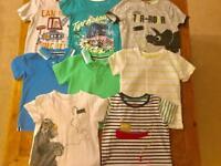 Boys 3-4 bundle - t-shirts, trousers, hoodies