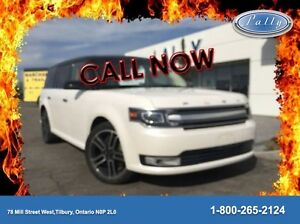2014 Ford Flex Limited, AWD, Moonroof, Navigation, 64, 706 kms!! Windsor Region Ontario image 1