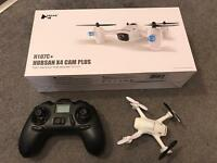 Hubsan h107c+ x4 cam drone used twice memory card and batteries