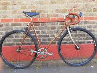Vintage gazelle Reynolds 531 singlespeed bike