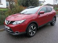 Nissan Qashqai 1.6 dCi N-Connecta 5dr Xtronic (magnetic red) 2016
