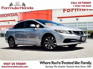 2014 Honda Civic Sedan EX | HEATED SEATS | SUNROOF - FORMULA HON