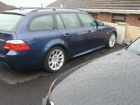 Bmw 525d msport auto blue