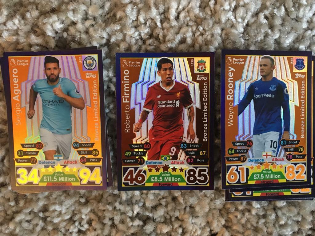 Match Attax 17/18 FOR SALE