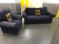 2x matching sofa, Free delivery