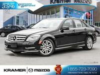2011 Mercedes-Benz C250 4MATIC w/Leather & Heated Seats