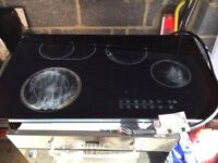 90cm touch control hob