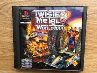 PlayStation 1 twisted metal world tour game. Ps1