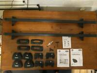 Thule bars, feet and fitting kit Vauxhall Astra