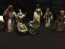 Italian nativity scene from Naples, Italy