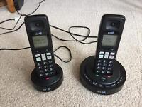 BT3510 Twin digital cordless telephone