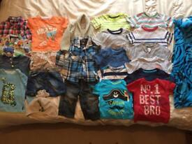 9-12 Next Boys bundle nearly new baby clothes