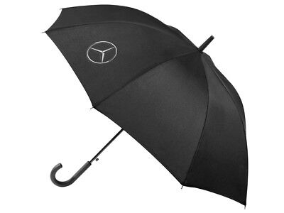 Genuine Mercedes-Benz Black Logo Umbrella B66958371 NEW