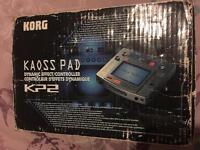 Korg Kaoss Pad KP2 effects