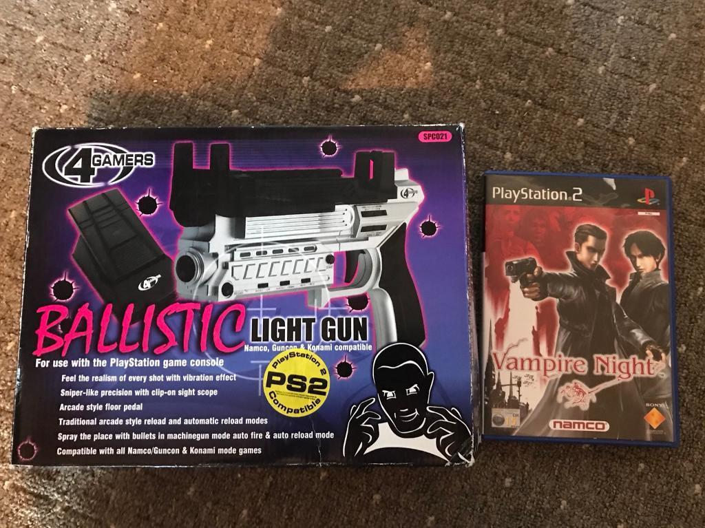 Ps2 gun and game
