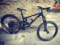 Santa Cruz 2018 full suspension mountain bike