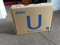 Msi U180 320GB Hdd Windows 7 netbook