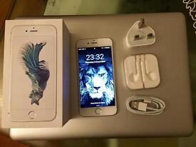 iPhone 6S 64GB UNLOCKED TO ALL NETWORK ( White & Silver ) Bargain !!