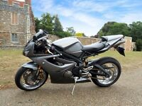 TRIUMPH DAYTONA 675 GRAPHITE GREY - LOW MILEAGE 13.5K, TOR EXHAUST 2006