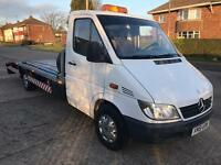 LHD Left hand drive mercedes sprinter recovery