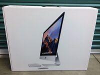 """iMac 5k 27"""", 4.0ghz i7, 1TB SSD Flash Storage, 16GB Ram, Mint condition"""