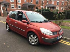 2006/06 REG RENAULT SCENIC 1.4 DYNAMIQUE ** LADY OWNED ** £895