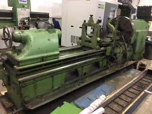 "32"" x 120"" WMW Manual Lathe"