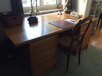 Large stylish retro desk