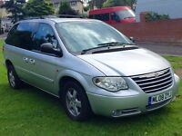 Chrysler Voyager 2008 7 Seater CRDExecutive 5dr Silver Full Leather Interior Top Spec Model