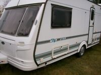 caochman 2 berth 2001 large end dressing room full awning excellent condition