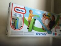 Little Tikes First Slide (green and blue) - brand new in box