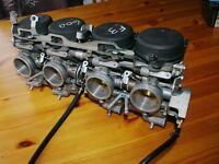 Honda CBR600 F3 FV FW 1997 1998 Carburettors carbs running bike