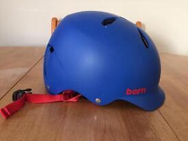 Bern Bike Helmet Skate Blue Matte Size M-L