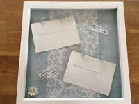 Baby Scan Framed Photos - 12 & 20 Week Scans - Handmade