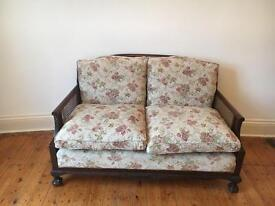 Country Style Sofa with Claw & Ball Feet - CAN DELIVER