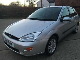 2001 Ford Focus 1.6 Zetec**New Mot**14 Service Stamps**