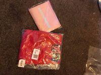 Beautiful lightweight Waterfall cardigan red size 18 new plus gift