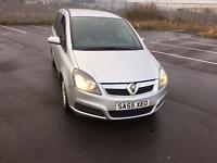 Vauxhall zafira 1.9 cdti 6 speed (55) plate