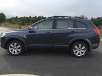2007 Chevrolet Captiva 2.0 VCDI 7 Seater 2 Owners Timing Belt Changed 12 Months Mot Leather Seats