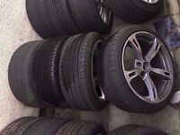 """Bmw ac schnitzer 18"""" Alloy Wheels Can Sell Single Can Post Part Ex Welcome"""
