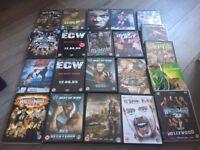 WWE DVDS X 21
