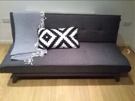 Brand New Yoko Sofa Bed from Made in Cygnet Grey (RRP£199)
